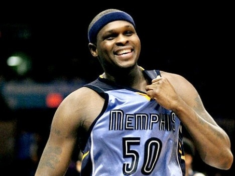 Zach Randolph of the Memphis Grizzlies lends a helping hand to more than just…