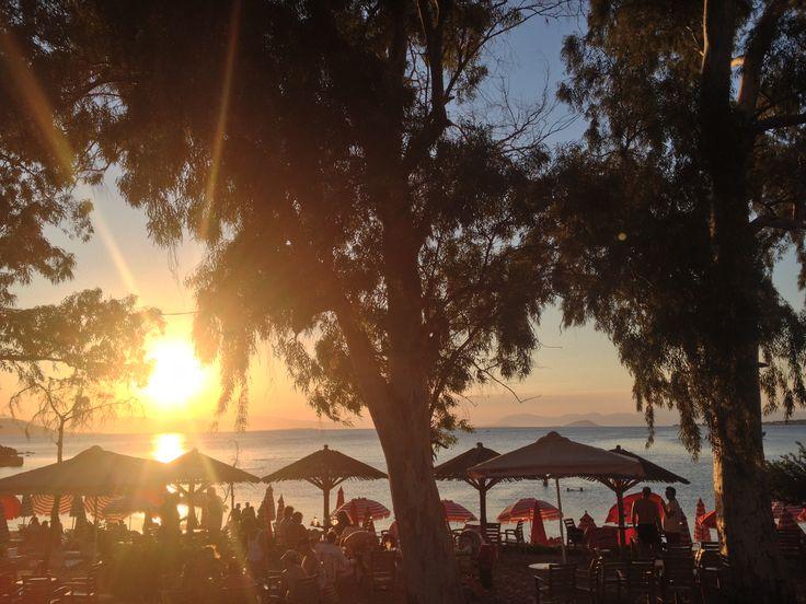 The famous Egienittisa Beach in Aegina Island. 2015. Ph. Laura Novel
