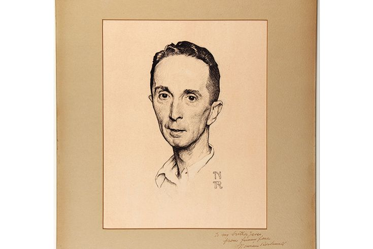 Norman Rockwell's History In Westchester - Westchester Magazine - October 2014 - Westchester, NY