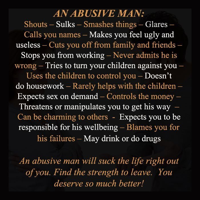 I think this just about pretty well sums up an abusive man. ~ Sony Crystal https://www.facebook.com/adviceaboutabusivemen/posts/1278352642183030