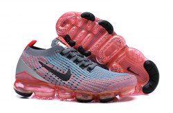 2302fd14e4 Nike Air Vapormax Flyknit 2019 Grey Orange Pink Black AJ6900-601 Women's  Men's Running Shoes