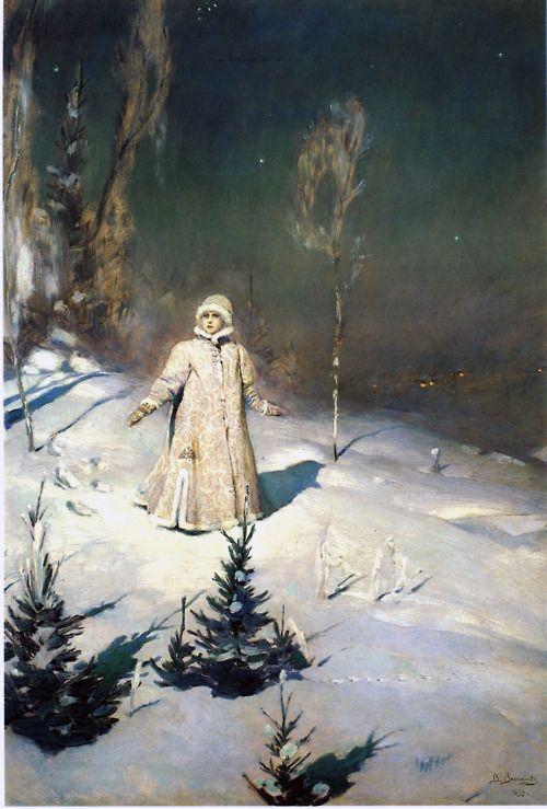 The Snow Maiden 1899 Viktor Vasnetsov