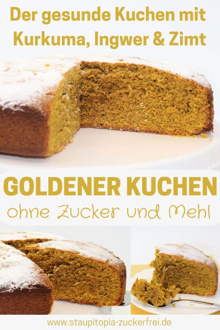 Ein gesunder Kuchen ohne Mehl und Zucker, der genau das Richtige für alle Fans ist …   – Die besten Abnehm-Rezepte! | GRUPPENBOARD