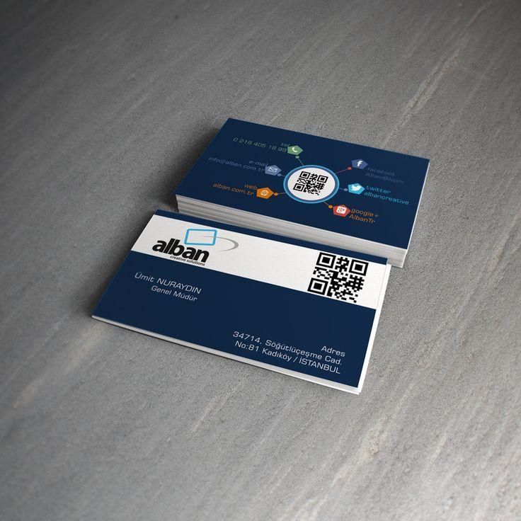 Alban.com.tr Business Card | Ugur DOGAN | front-end developer