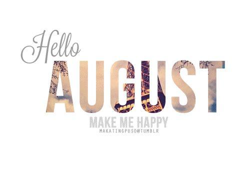 {Instamonth} Goodbye July - Hello August