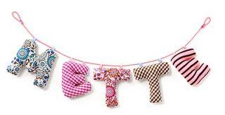 Kostenlose Baby-Projekte: Weiche Buchstaben