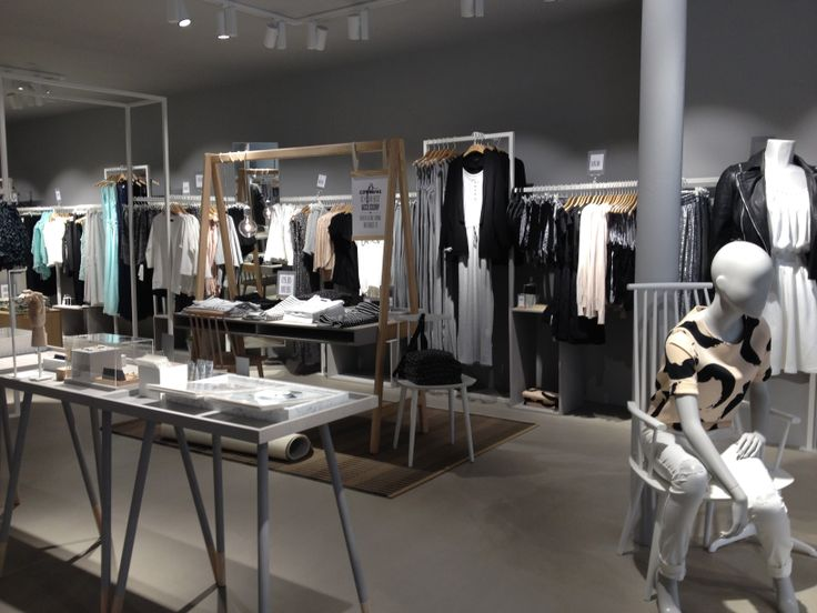The new VILA store Concept in Horsens.