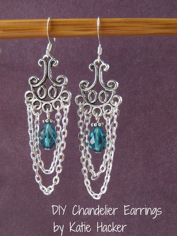75 best diy chandelier earrings more images on pinterest small cable chain looks beautiful with chandelier earrings components beadalon jskit 0343a mozeypictures Images