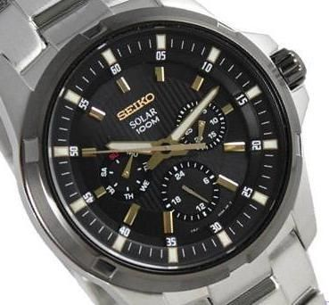 17 best images about seiko solar pilots solar and seiko mens solar watch sne117p1