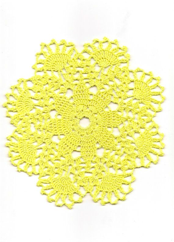 Crochet doily lace doilies table decoration by DoilyWorld on Etsy, £2.50