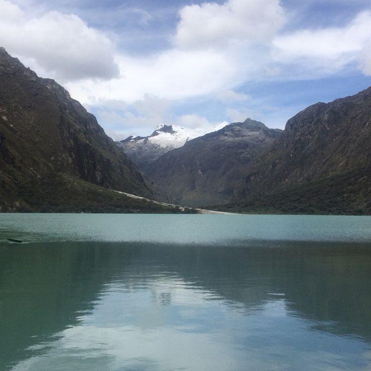 Laguna Llanganuco, Huancash  - Peru