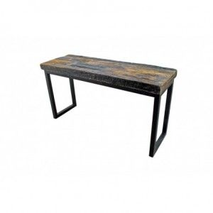 Industrial Style Console Rustic Table | Rustic Furniture ...