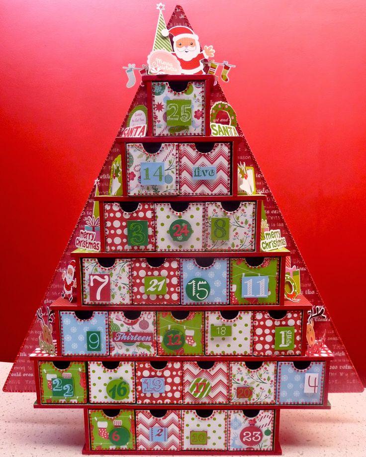 Giant Advent Calendar Ideas : Tania s creative space kaisercraft large advent tree