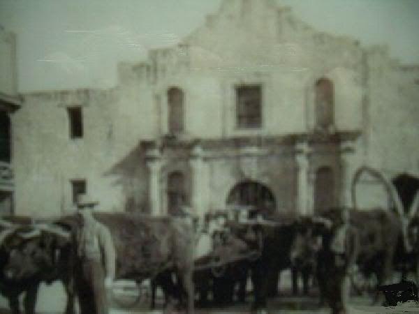 The Alamo, San Antonio, Texas 1910