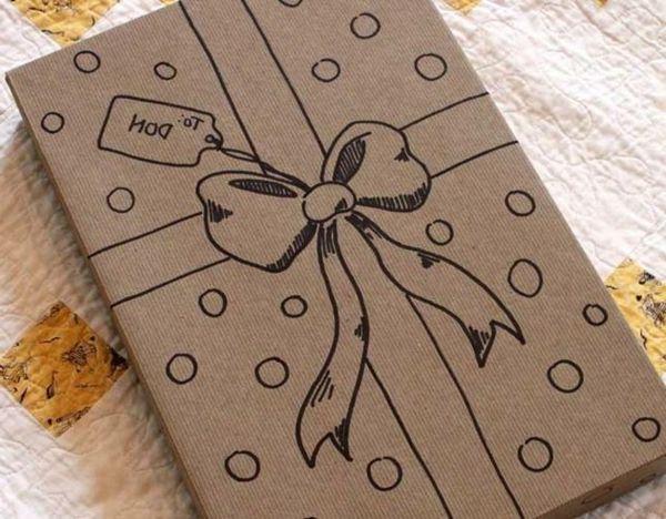Emballage cadeau original et beau                                                                                                                                                                                 Plus