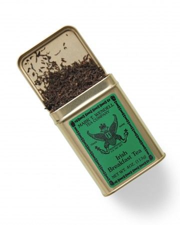 Your wedding is history in the making, so send both rebels and patriots home with English, Scottish, and Irish Breakfast Tea from Mark T. Wendell Tea Company, founded more than a century ago ($29.50 for a 3-tin sampler).