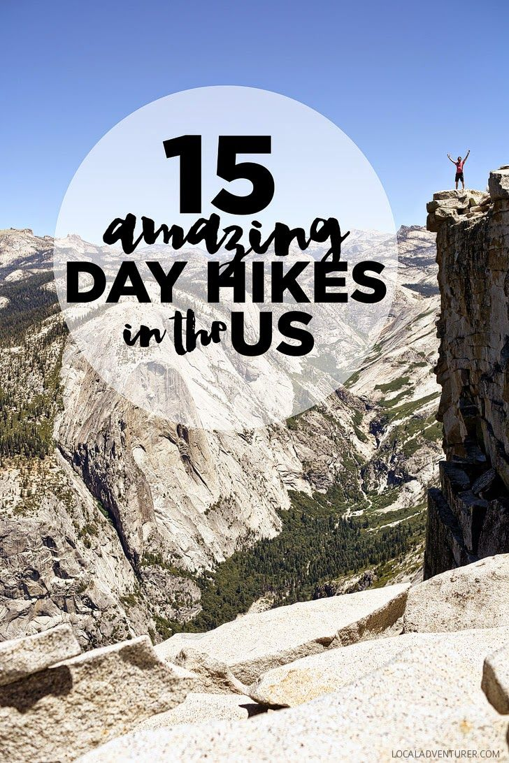15 Best Day Hikes in the US