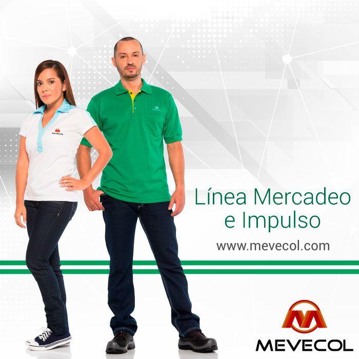 Un buen uniforme refuerza el posicionamiento de la marca y despierta el interés del consumidor. Encuentra los diseños perfectos para tu uniforme en nuestra línea Mercadeo e Impulso