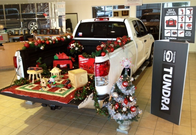 Christmas in July here at Red McCombs Toyota! Buy a New Toyota Tundra and receive a Milwaukee tool kit!