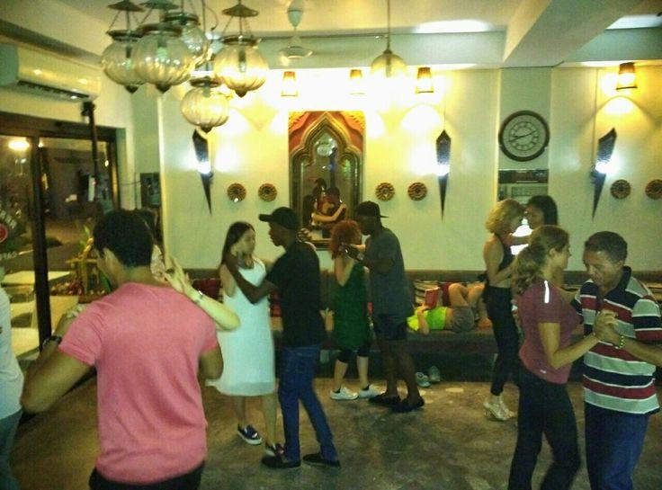 New Bachata & Kizomba parties on Wednesdays started last night. Every week at Magnolia Cafe at 8 pm to midnight on Koh Samui 💃💜🌴 . #samui #bachata #kizomba #sensual #danceparty #magnoliacafe #samuilatinfiesta #djanngrape #dancing #passion #latindancing #love #music #dancefloor #justdance #dancerslife