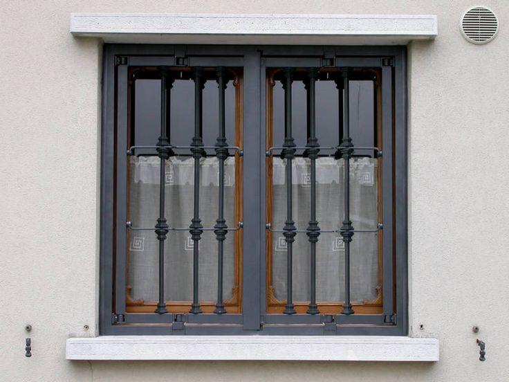 inferriata apribile per finestra