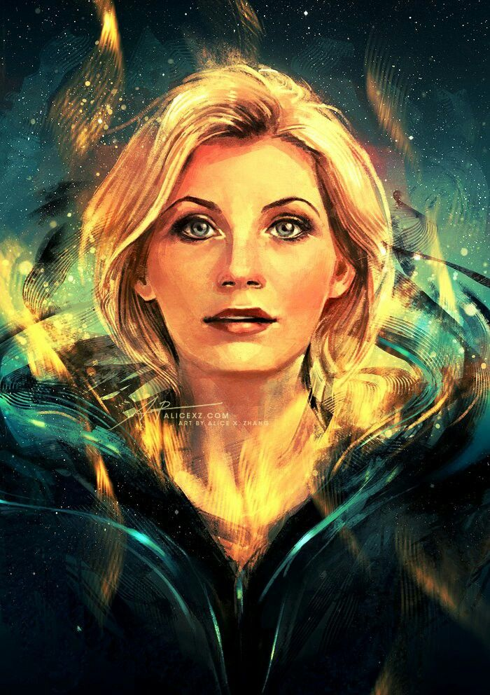 Alice X. Zhang's 13th Doctor artwork