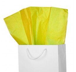Yellow Silk Economy Tissue