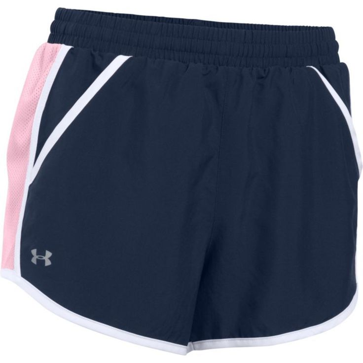 Under Armour Women's Fly By Running Shorts, Blue