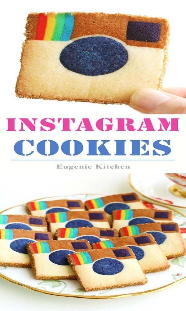 instagram-cookies-eugenie-kitchen-pin The Best cookie recipe . #cookie #party