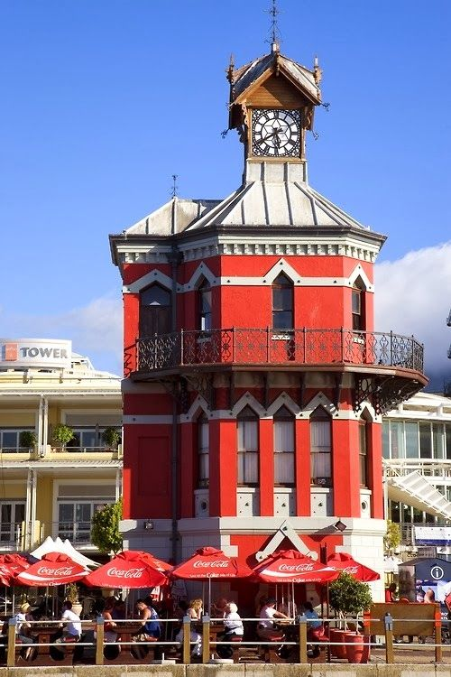 The Clock Tower at the Victoria and Alfred Waterfront, Cape Town  - South Africa.
