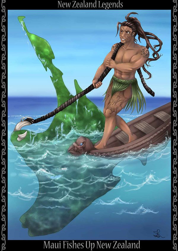 Image result for legend of maui