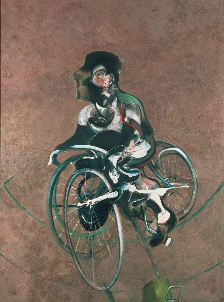 bacon_portrait-george-dyer_l.jpg (940×1266) francis bacon paintings  plastic arts, visual arts, fine arts, art, black