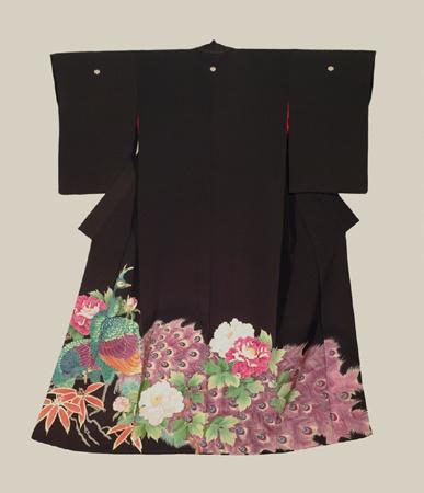 Yuzen Tomesode, Late Meiji to early Taisho (1900-1920). The Kimono Gallery