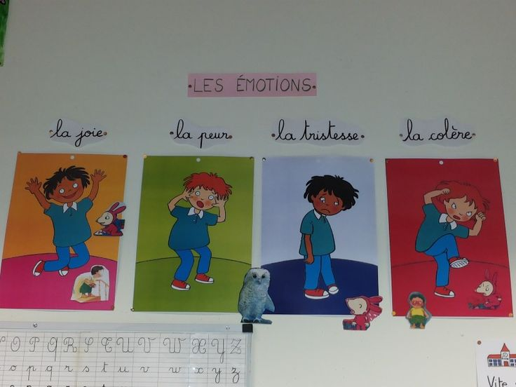 Emotions - objectif maternelle