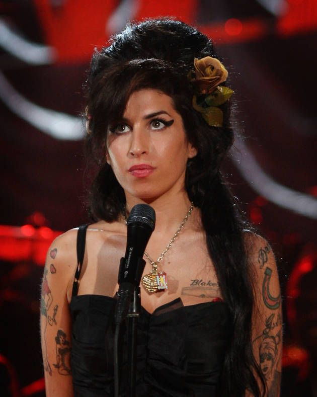 Amy Winehouse. I have her whole catalog of music. It's not enough.
