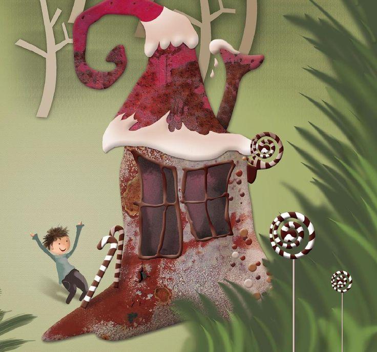 Sketch book Hansel y Gretel by Magaraska