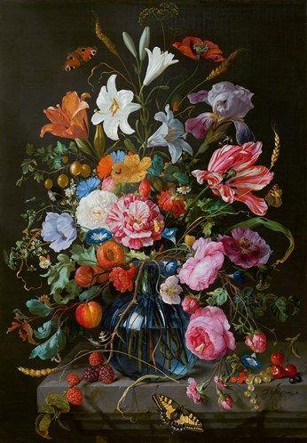 De Heem . Vase with flowers