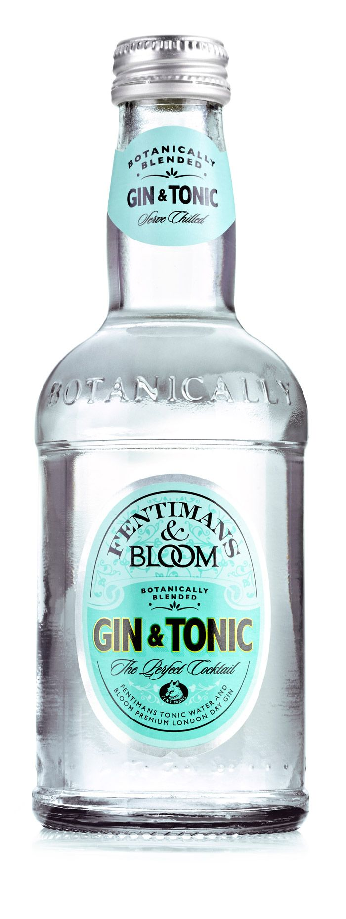 Fentimans & Bloom Gin & Tonic by Keen & Able. Good & Tasty.