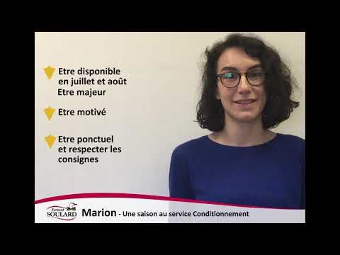 Recrutement Saisonnier Ernest Soulard 2019 Infowebagro