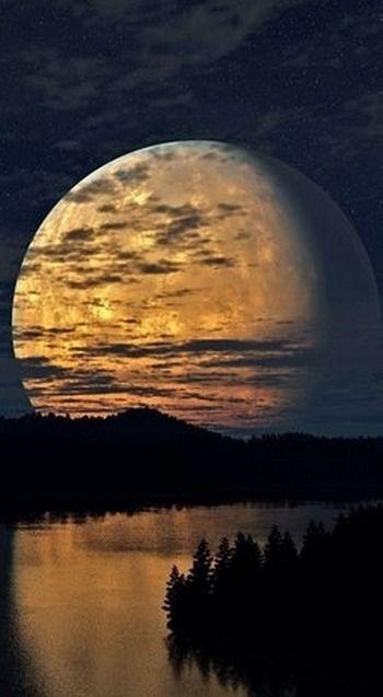 super moon....
