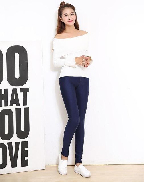 Legging Dentelle Fitness Leggings Women Stretch slim 2017 hige Waist Spandex Straight Slim Jeans Women Leggings