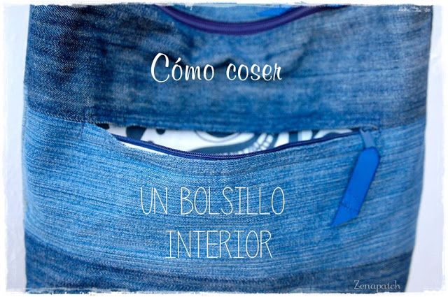 Tutorial: coser un bolsillo interior