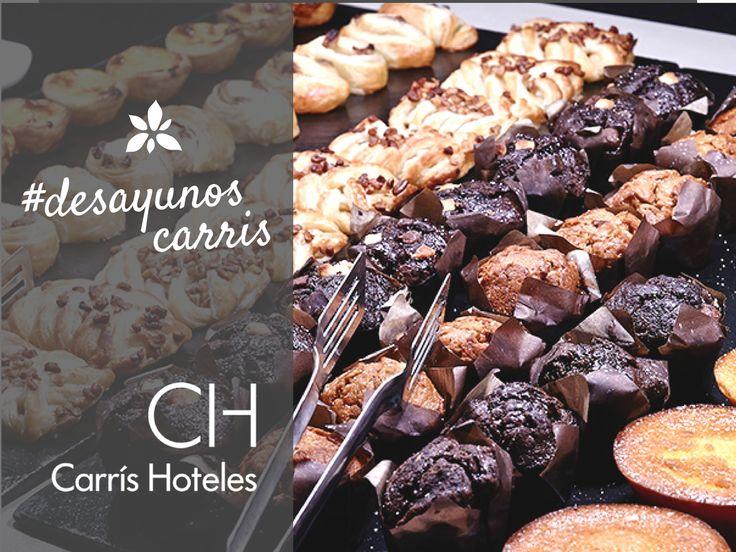 Marchando un dulce #desayunocarris! La mejor bollería y repostería casera en Carrís Hoteles