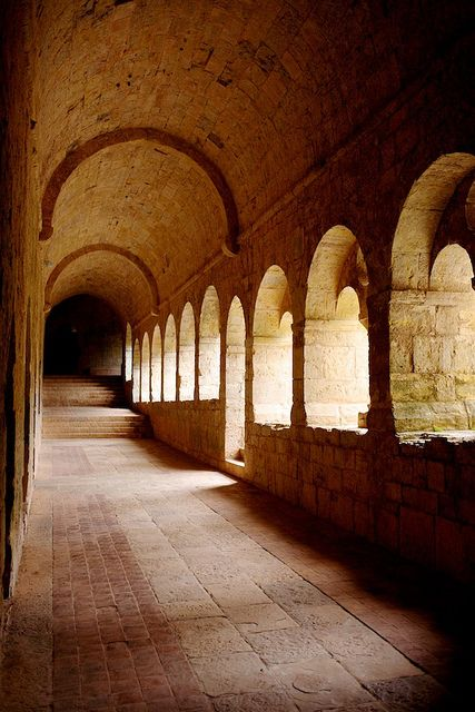 Abbaye du Thoronet, alweer 5 jaar geleden bezocht.