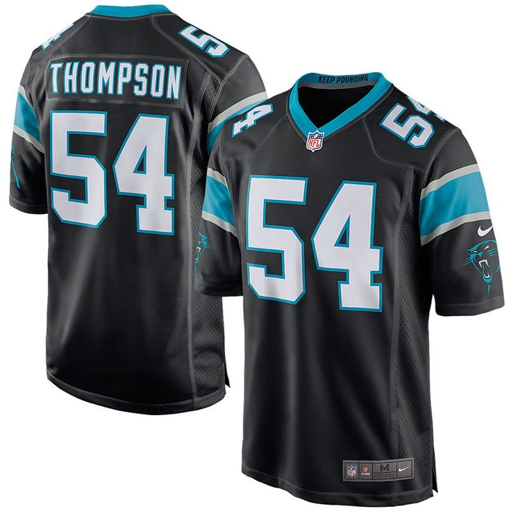 Shaq Thompson Carolina Panthers Nike Game Jersey- Black