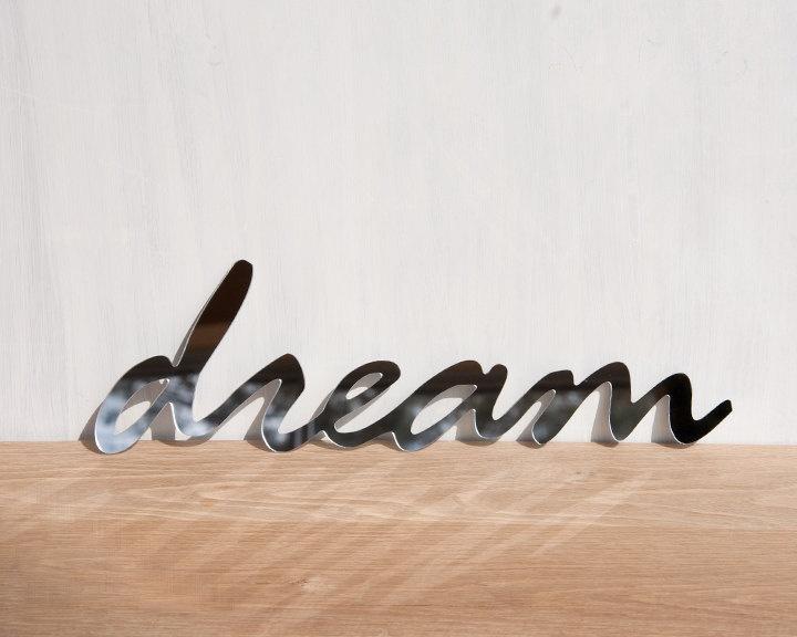 Wall Decor Mirror Word U0027Dreamu0027 Signage By StudioLiscious On Etsy
