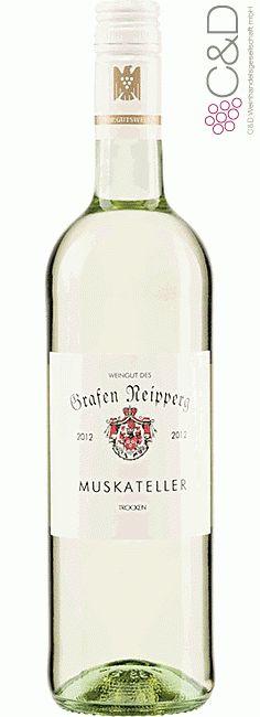 Folgen Sie diesem Link für mehr Details über den Wein: http://www.c-und-d.de/Wuerttemberg/Muskateller-trocken-2015-Weingut-Graf-Neipperg_66397.html?utm_source=66397&utm_medium=Link&utm_campaign=Pinterest&actid=453&refid=43 | #wine #whitewine #wein #weisswein #württemberg #deutschland #66397