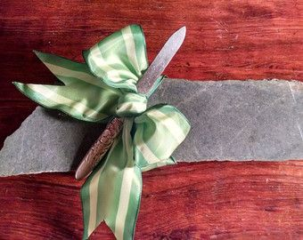 Black Granite Cheese/Sushi Board by saycheesegranitgifts on Etsy