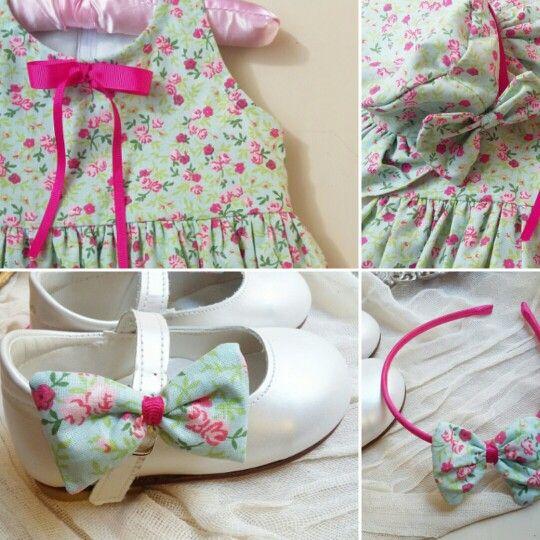 Floral βαπτιστικο  ρούχο για κοριτσάκι!#βάπτιση #γάμος #vaptisi #vaftisi #καραβι #navy #naftiko #vaptistika #pink #baby #wendding #greece #vintage