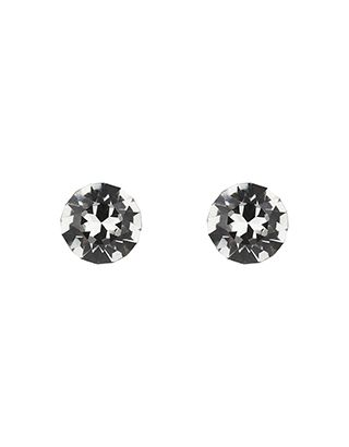 Sterling Silver Swarovski Single Stud Earrings